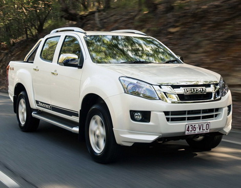 ISUZU DMAX LS 4x4 AT